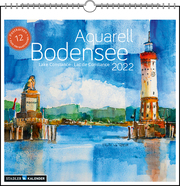 Bodensee Aquarell 2022