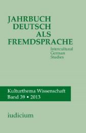 Jahrbuch Deutsch als Fremdsprache / Intercultural German Studies