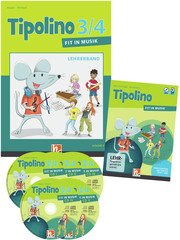 Tipolino 3/4 - Fit in Musik. Paket inkl. DVD. Ausgabe D