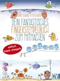 Dein fantastisches Fingerstempelbuch zum Mitmachen