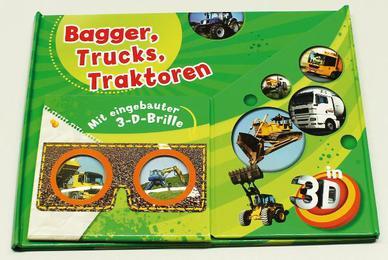 Bagger, Trucks, Traktoren in 3D