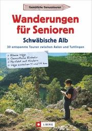 Wanderungen für Senioren Schwäbische Alb - Cover