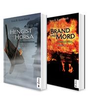 Die Britannien-Saga. Band 1 und 2: Hengist und Horsa / Brand und Mord. Die komplette Saga in einem Bundle