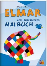 Elmar - Mein superdickes Malbuch