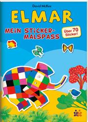 Elmar - Mein Sticker-Malspaß