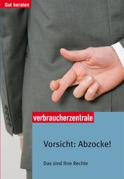 Vorsicht: Abzocke!