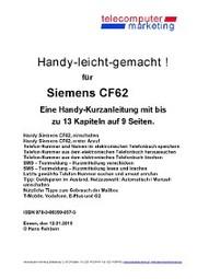 Siemens CF62-leicht-gemacht