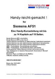 Siemens AF51-leicht-gemacht