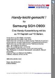 Samsung SGH-D900i-leicht-gemacht