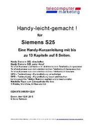 Siemens S25-leicht-gemacht