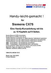 Siemens CX75-leicht-gemacht