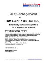 Tchibo TCM TCM LG KP 100 Tchibo-leicht-gemacht