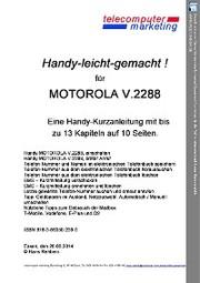 Motorola V.2288-leicht-gemacht