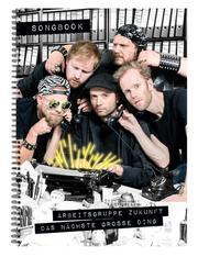 Das nächste große Ding - Songbook - Cover