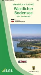 Wanderkarte 1:35000 Westlicher Bodensee