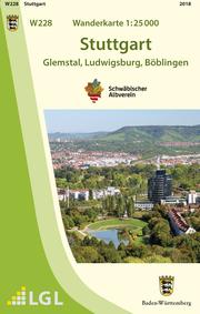 W228 Wanderkarte 1:25 000 Stuttgart