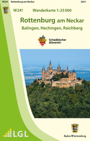 W241 Wanderkarte 1:25 000 Rottenburg am Neckar