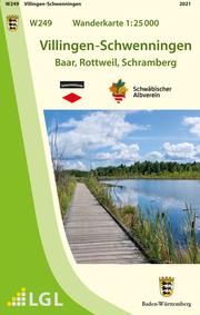 W249 Wanderkarte 1:25 000 Villingen-Schwenningen