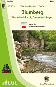 W259 Wanderkarte 1:25 000 Blumberg