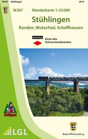 W267 Wanderkarte 1:25 000 Stühlingen