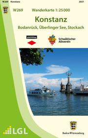 W269 Wanderkarte 1:25 000 Konstanz