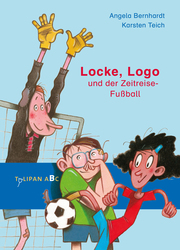 Locke, Logo und der Zeitreise-Fußball