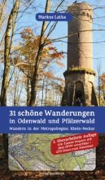 31 schöne Wanderungen in Odenwald und Pfälzerwald - Cover