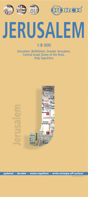 Jerusalem, Borch Map