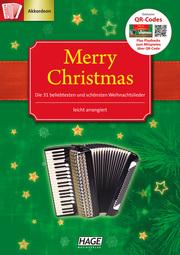 Merry Christmas für Akkordeon