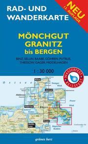 Rad- und Wanderkarte Mönchgut, Granitz, Bergen