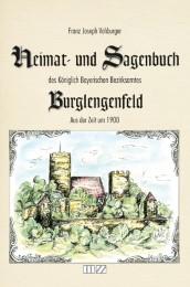 Heimat- und Sagenbuch des Königlich Bayerischen Bezirksamtes Burglengenfeld aus der Zeit um 1900 - Cover