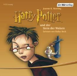 Harry Potter und der Stein der Weisen - Cover
