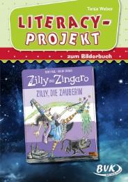 Literacy-Projekt zum Bilderbuch Korky Paul/Valerie Thomas: 'Zilly, die Zauberin'