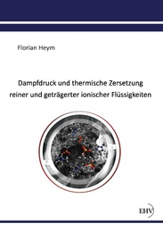 Dampfdruck und thermische Zersetzung reiner und geträgerter ionischer Flüssigkeiten