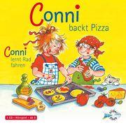 Conni backt Pizza/Conni lernt Rad fahren