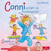 Conni schläft im Kindergarten/Conni geht in den Zoo