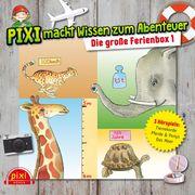 Pixi macht Wissen zum Abenteuer: Die große Ferienbox 1