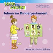 Jelena im Kinderparlament