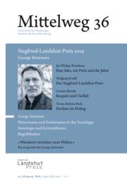 George Steinmetz. Siegfried-Landshut-Preis 2019