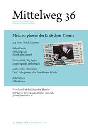 Metamorphosen der Kritischen Theorie