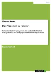 Das Phänomen Le Parkour