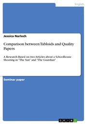 Comparison between Tabloids and Quality Papers