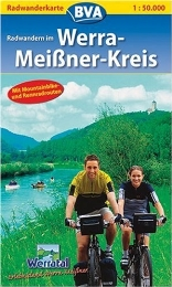 Radwanderkarte BVA Radwandern im Werra-Meißner-Kreis