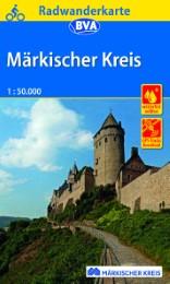 Radwanderkarte BVA Märkischer Kreis, 1:50.000, reiß- und wetterfest, GPS-Tracks Download