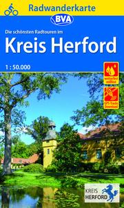 Radwanderkarte BVA Radwandern im Kreis Herford 1:50.000, reiß- und wetterfest, GPS-Tracks Download