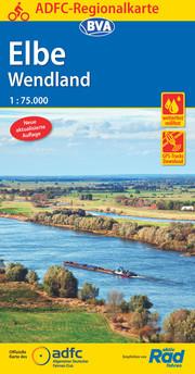 ADFC-Regionalkarte Elbe Wendland 1:75.000, reiß- und wetterfest, GPS-Tracks Download