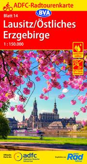ADFC-Radtourenkarte 14 Lausitz/Östliches Erzgebirge 1:150.000, reiß- und wetterfest, GPS-Tracks Download