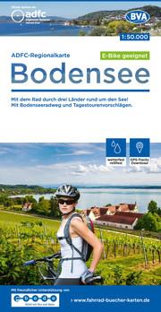 ADFC-Regionalkarte Bodensee, 1:50.000, reiß- und wetterfest, GPS-Tracks Download