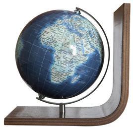 Globus Mini Bücherstütze Duo Azzurro