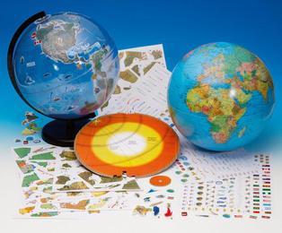 KOSMOS Globus-Baukasten